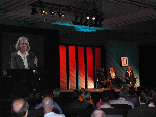 Kara Swisher, Barry Diller, Meg Whitman