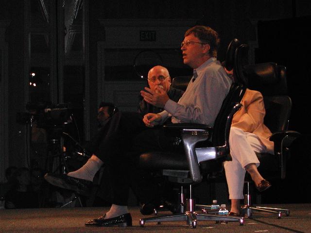Bill Gates, Walt Mossberg, Kara Swisher