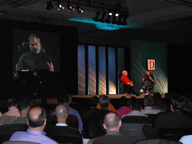 Walt Mossberg, Steve Jobs